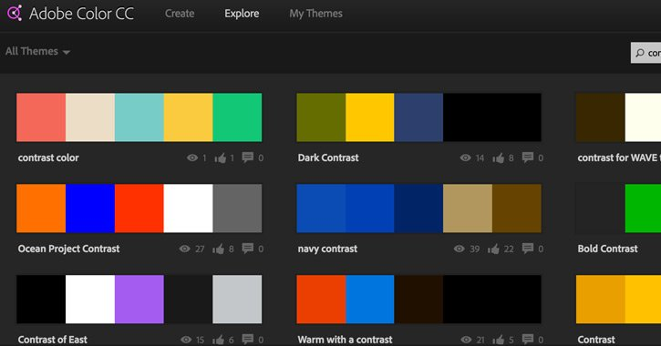 adobe cc color webapp