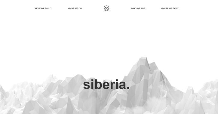 siberia agency website