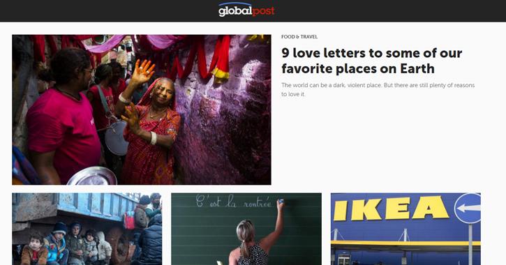 global post website