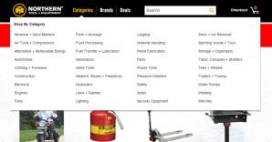Web Design Mega Menu Examples for Design Inspiration