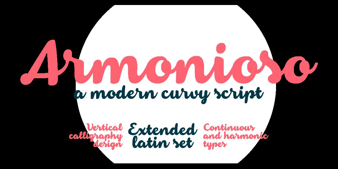 Armonioso Script Font