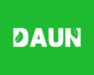 daun leaf logo
