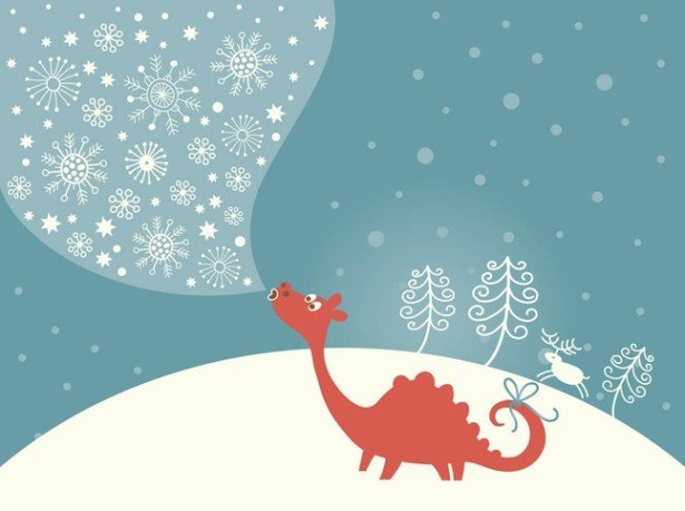 15 Christmas Vector Graphics to Download for Free 06
