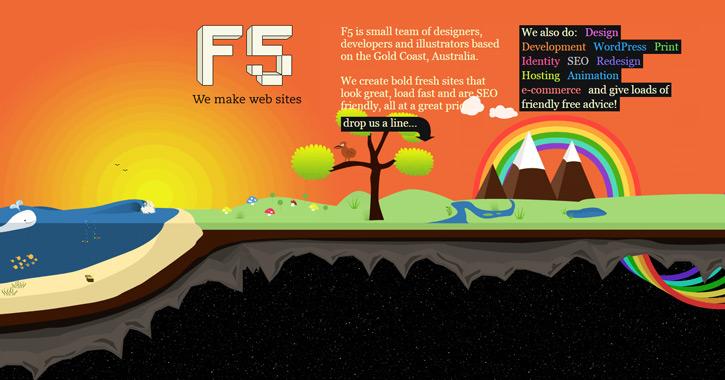 ffive web design