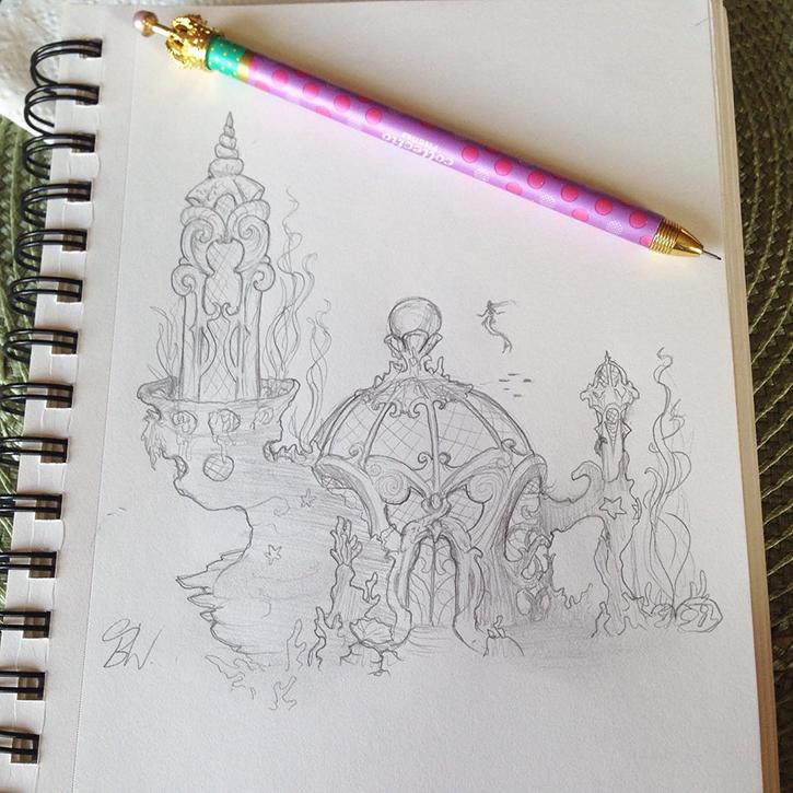 weissenberg sketchbook
