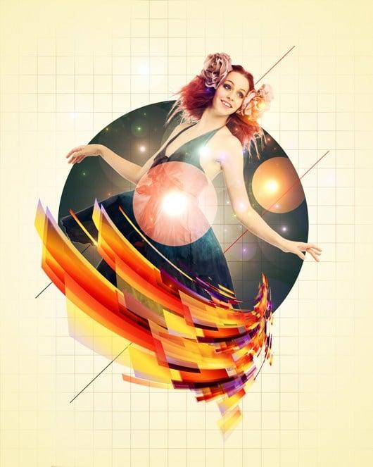 Create an Edgy, Colorful Fashion Photo Manipulated Artwork