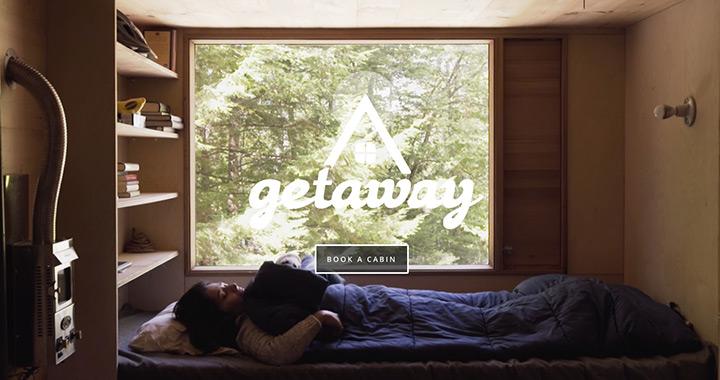 Getaway Tiny House Nature Website