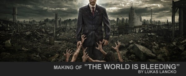 "Making of ""The World is Bleeding"""