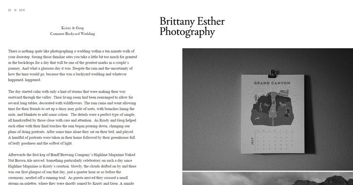 brittany esther website