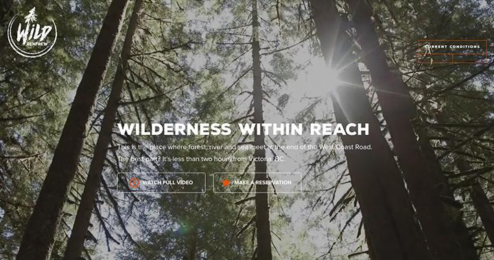 Wild Renfrew Nature Inspired Website