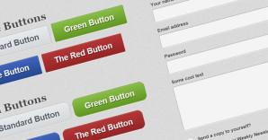 Custom HTML5/CSS3 Solid User Interface Kit Freebie