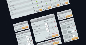 Zephirro E-Commerce UI Set, Free and Premium Versions