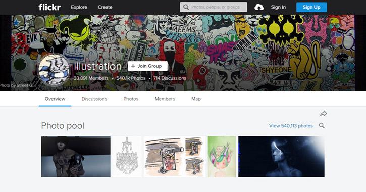 99 Flickr Groups for Design Inspiration - Vandelay Design