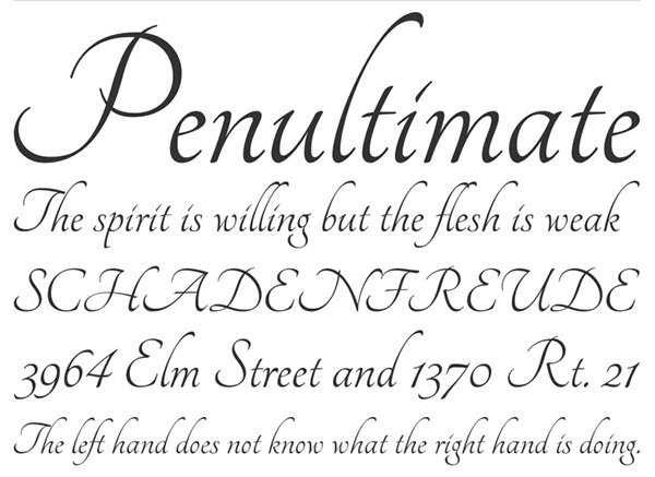 Photoshop Zone Beautiful Calligraphy Fonts For Designers