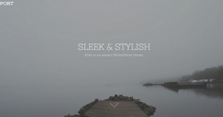 Port WordPress theme