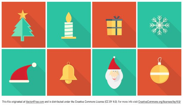 15 Christmas Vector Graphics to Download for Free 10