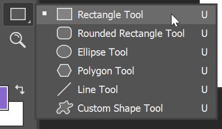 Step 2 Rectangle Tool