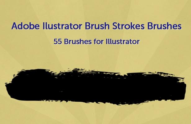 Adobe Illustrator Brush Strokes Brushes