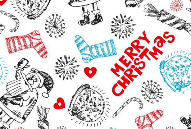 15 Christmas Vector Graphics to Download for Free 02