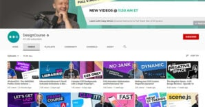 15 YouTube Channels for Aspiring Web Designers