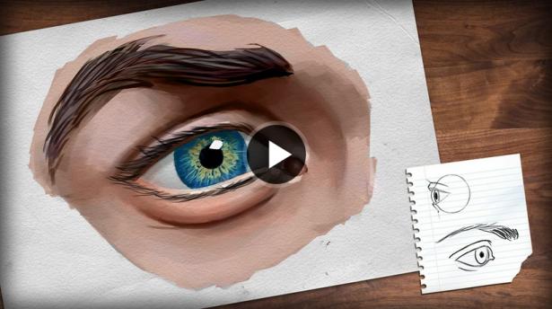draw-human-eye