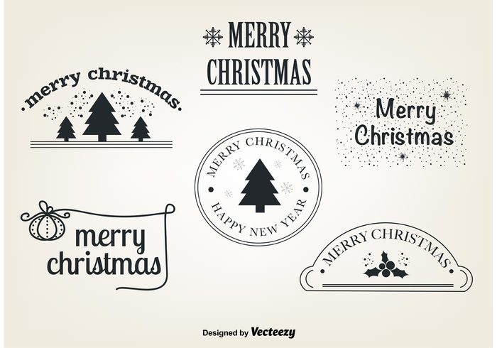 15 Christmas Vector Graphics to Download for Free 15