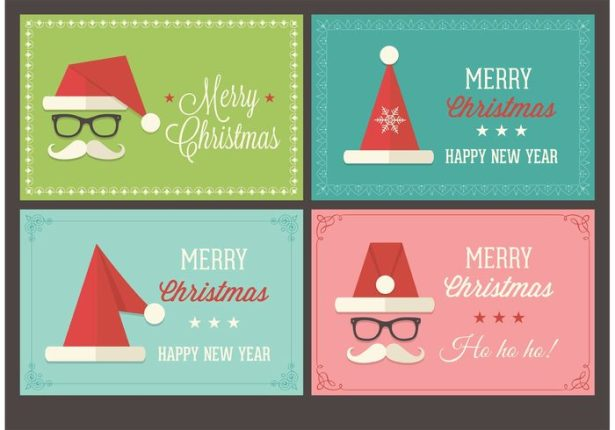 15 Christmas Vector Graphics to Download for Free 08