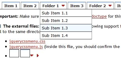 jQuery Multi Level CSS Menu #1