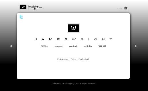 Creating a Flash Portfolio Website