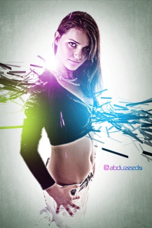 Stylish Light Effect in Photoshop
