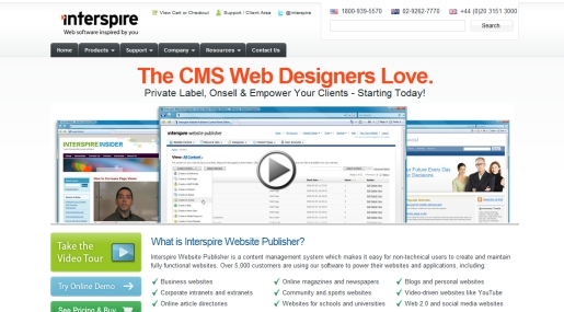 Interspire Website Publisher