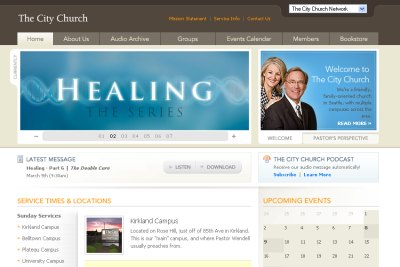 50 Of The Best Church Website Designs