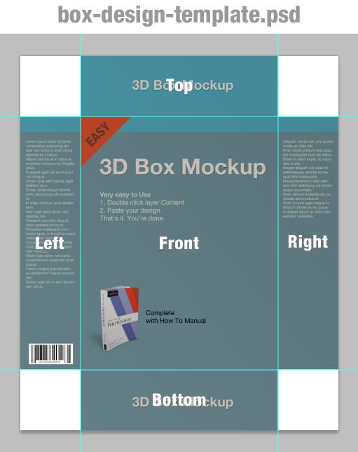 Tutorial How To Use Box Mockup