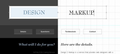 Design 2 Markup