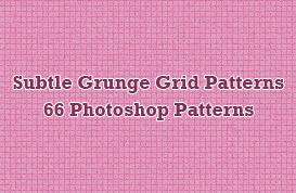 Subtle Grunge Grid Patterns