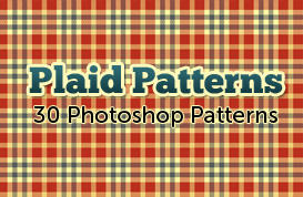 Plaid Photoshop Patterns