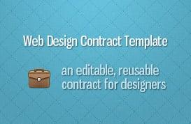 Web Design Contract Template