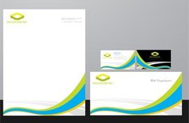 Colorful Stripes Identity Kit