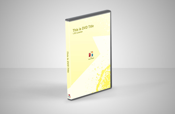 DVD Mockup PSD