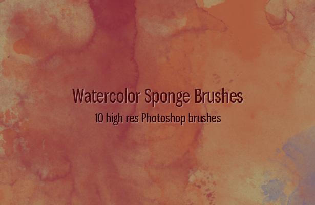 Watercolor Sponge Brushes