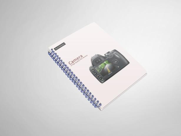 Notebook Mockup PSDs