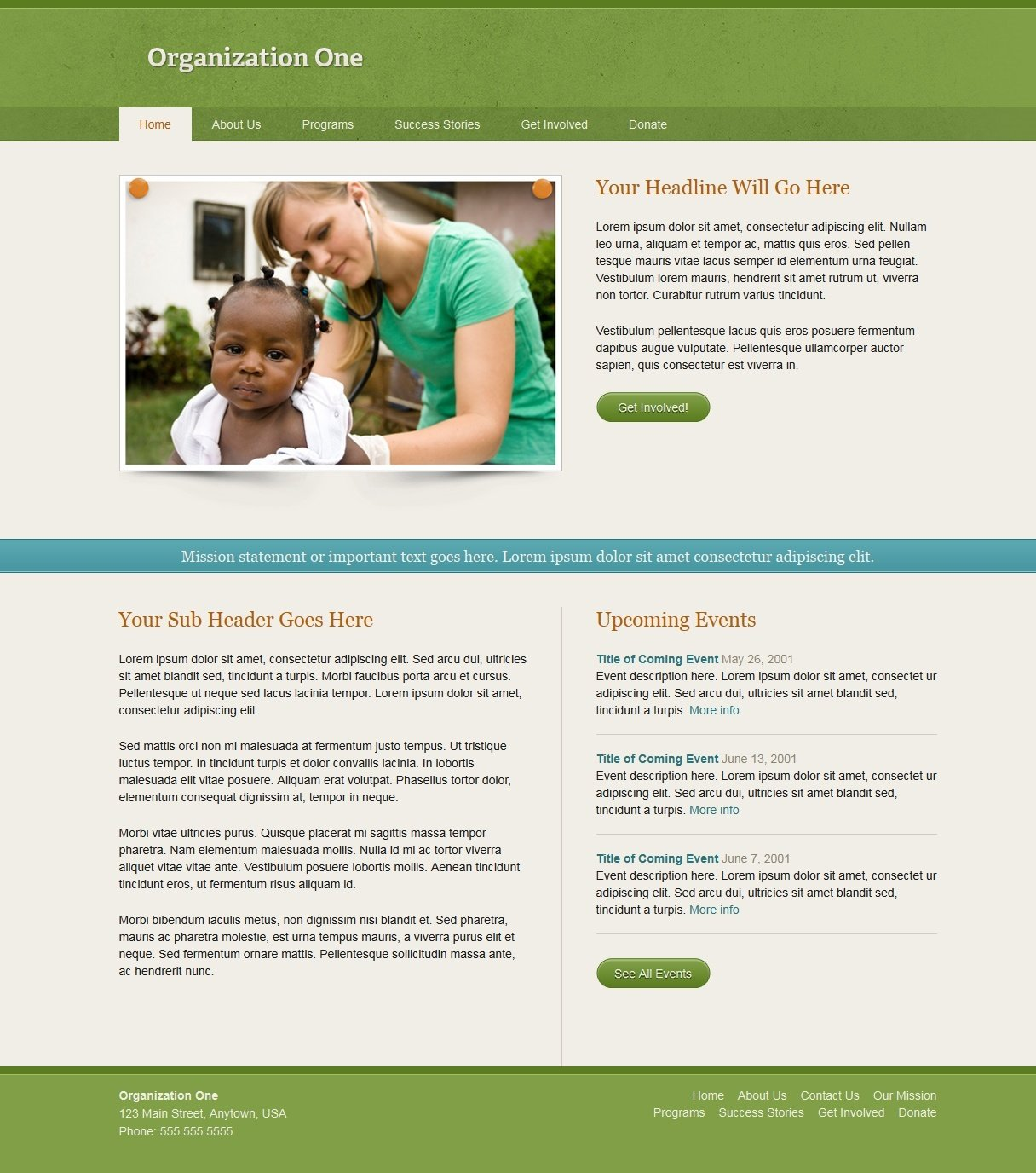 organization website templates free 28 images free non profit