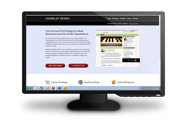 LCD Monitor PSD