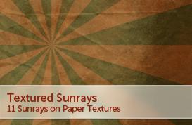 Textured Sunrays