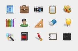 Portfolio Icon Set