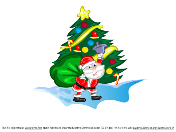 15 Christmas Vector Graphics to Download for Free 12