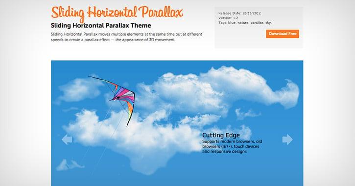 sliding-horizontal-parallax