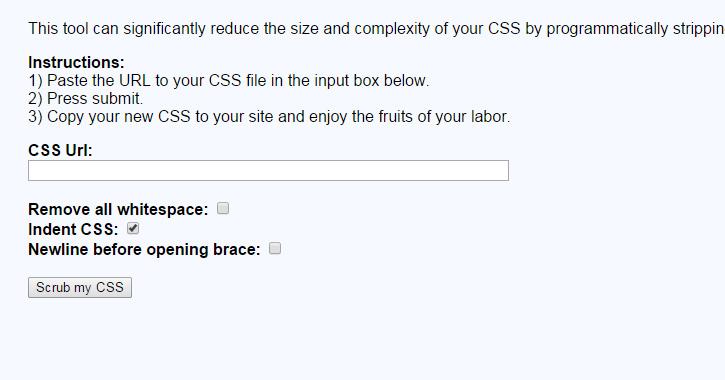 CSS superscrub Screen Shot