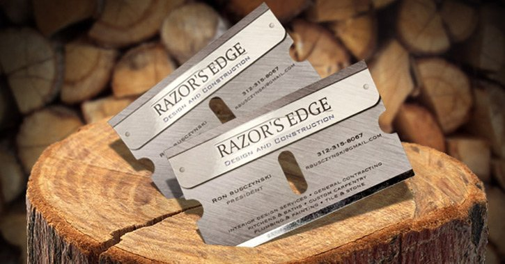 60  memorable and unique business cards